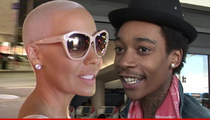 Amber Rose & Wiz Khalifa -- We're Burying the Hatchet, for the Sake of Our Kid