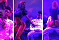Iman Shumpert -- Erotic Lap Dance at Concert ... From