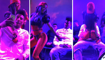 Iman Shumpert -- Erotic Lap Dance at Concert ... From Hot GF