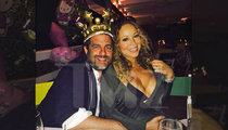 Mariah Carey -- Hangin' Out with Brett Ratner On His Birthday! (PHOTO)
