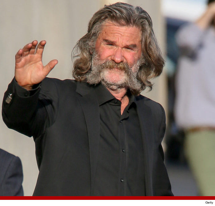 Kurt Russell's Incredible Lip Rug -- CAUTION: May Cause ...