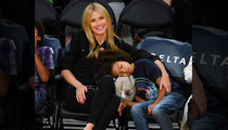 Heidi Klum -- Lakers Put My Kid To Sleep ... Even with Courtside Seats