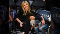 Heidi Klum -- Lakers Put My Kid To Sleep ... Even with Courtside Seats