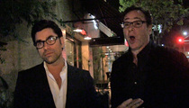 John Stamos and Bob Saget -- Full House, Full Stomachs (VIDEO)