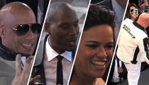 'Furious 7' Stars Pull Huge Hollywood Heist ... Stealing the Spotlight (TMZ TV)