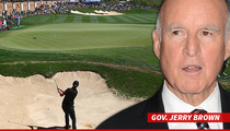 California Golf Courses -- Battle Plan Ready ... for Drought Crisis