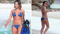 Jessica Alba -- Easter Bikini Poses ... Thank You, God (TMZ TV)
