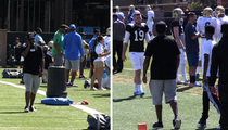 Diddy -- FIGHT FIGHT FIGHT ... Supports Son At UCLA FB Practice