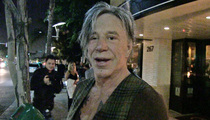 Mickey Rourke -- Who's Rob Gronkowski?! ... I Stopped Watching Football
