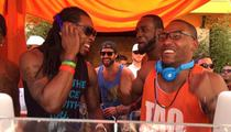 Richard Sherman -- DJ's Vegas Bikini Rager ... With Brody Jenner