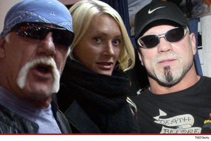 Scott Steiner Threatened To Kill Hulk Hogan
