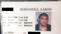 Aaron Hernandez Jail I.D. -- eBay Shuts Down Auction ... Seller Goes to Craigslist