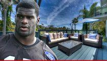 NFL's Greg Little -- Eviction War ... Over Hollywood Mansion