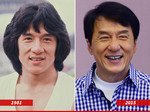 Jackie Chan almost has not changed in 34 years