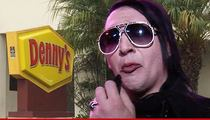 Marilyn Manson -- Grand Slammed in the Face at a Denny's