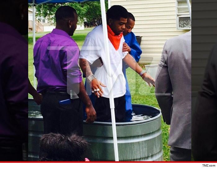 Webbie Baptized