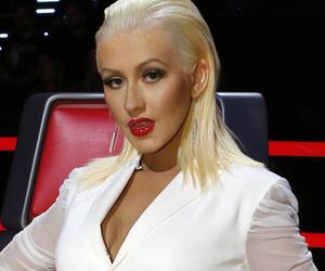 Christina Aguilera Shows Serious Cleavage at Breakthrough Prize Awards ...  Christina Aguilera