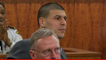 Aaron Hernandez -- I Witnessed the Murder ... But I Didn't Do It