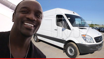 Akon -- Dear President ... Enjoy This Ballin' Bulletproof Van