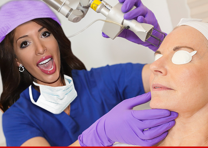 Farrah Abraham — On Her Way to Becoming Dr. Backdoor Teen Mom