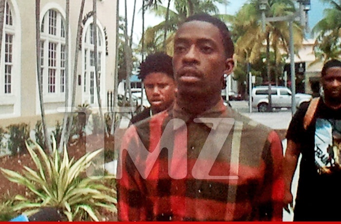 Rich Homie Quan Surrenders to Cops Booked for Assaulting Bouncer