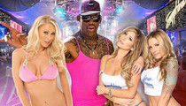 Dennis Rodman -- HUGE PORN STAR PARTY ... For 54th Birthday