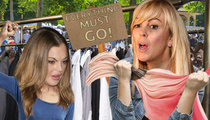 Lindsay Lohan -- Dina's Selling All MY STUFF!! Threatens to Call Cops