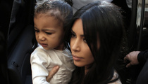 Kim Kardashian & Kanye West Baptize North West -- Who's Nori's Godmother?