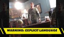 Dennis Quaid -- Loses His Mind On Movie Set ... 'I Have a Bunch of Pussies Staring at Me!' (VIDEO)