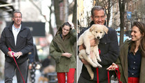 Brian Williams -- You Can Trust Me, America ... I Have a Puppy! (PHOTO)