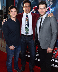 "Lou Ferrigno Brings His Sons to the ""Avengers: Age of Ultron"" Premiere -- And They're So Handsome!"