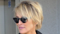 Sharon Stone's Sexy Stems -- Up Close & Personal!