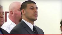 Aaron Hernandez -- On Suicide Watch ... After Murder Conviction