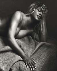 Laverne Cox Goes Completely Naked For Allure Magazine!