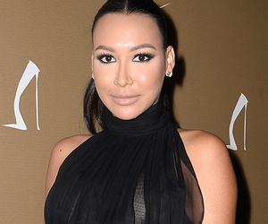 Naya Rivera Dresses Up Her Growing Baby Bump In Gorgeous Black Gown