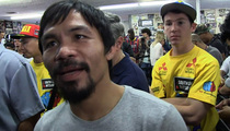Manny Pacquiao -- I'M TOO YOUNG TO BE PRESIDENT ... Maybe Senator Tho
