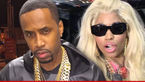 Nicki Minaj's Ex Safaree Samuels -- Someone's Leaking Her Nude Pics ... But It Ain't Me
