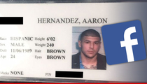 Aaron Hernandez Jail I.D. -- Craigslist Kills Auction ... Seller Goes To Facebook