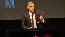 Zayn Malik -- He Speaks!!! He Thanks 1D ... And He's Asian! (VIDEO)