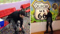 Marilyn Manson -- Antichrist Superstar Returns to Roller Skating