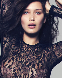 Bella Hadid Shows Serious Skin in Completely Sheer Bodysuit