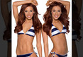 The Houston Texans Cheerleading Team -- You Like Twins? Well, We Got Em! (PHOTOS)