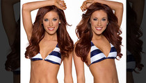 The Houston Texans Cheerleading Team -- You Like Twins? Well, We Got Em! (PHOTOS)