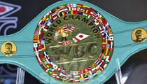 Mayweather vs. Pacquiao -- MILLION DOLLAR BELT ... REVEALED!!