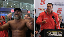 Shannon Briggs -- Reign Of Klitsch-Terror Continues ... Crashes Champ's News Conference