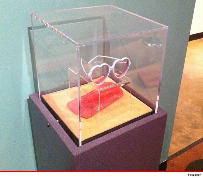 Elton John Sunglasses Stolen