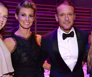 Faith Hill & Tim McGraw Step Out with Three Gorgeous Daughters to TIME 100 Gala