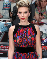 "Scarlett Johansson Steals the Spotlight at ""Avengers: Age of Ultron"" Premiere in London"