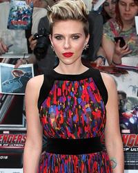 "Scarlett Johansson Steals the Spotlight at ""Avengers: Age of Ultron"" Premiere in London"