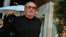 Jack Nicholson -- Who Cares About NBA Playoffs?! ... No Lakers? No Interest